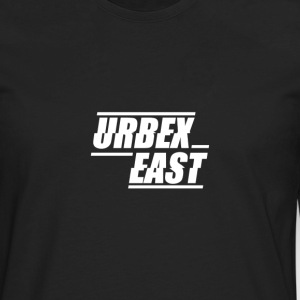 Urbex East Logo - Men's Premium Long Sleeve T-Shirt