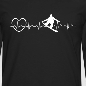 Snowboarding Love Shirt - Men's Premium Long Sleeve T-Shirt