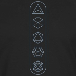 platonic-solids - Men's Premium Long Sleeve T-Shirt