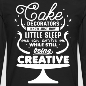 Cake Decorators Shirt - Men's Premium Long Sleeve T-Shirt