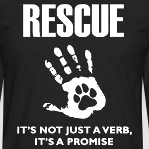 Rescue Dog Shirt - Men's Premium Long Sleeve T-Shirt