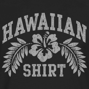 Hawaiian Shirt - Men's Premium Long Sleeve T-Shirt