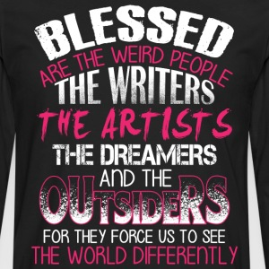 The Writer The Artists The Dreamers T Shirt - Men's Premium Long Sleeve T-Shirt
