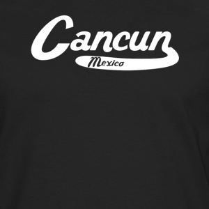 Cancun Mexico Vintage Logo - Men's Premium Long Sleeve T-Shirt
