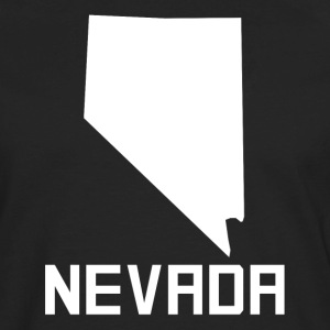 Nevada State Silhouette - Men's Premium Long Sleeve T-Shirt