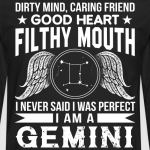 I Am A Gemini T Shirt - Men's Premium Long Sleeve T-Shirt