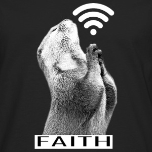 Faith Animal Pray - Men's Premium Long Sleeve T-Shirt