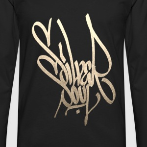Draco Graffiti Gold - Men's Premium Long Sleeve T-Shirt