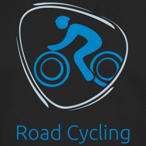 Road_cycling_blue - Men's Premium Long Sleeve T-Shirt