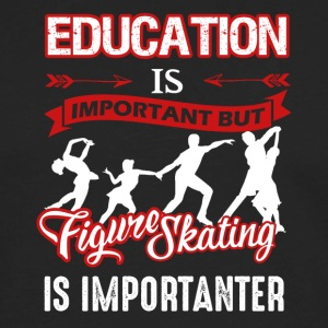 Figure Skating Shirt - Men's Premium Long Sleeve T-Shirt