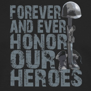 Honor Our Heroes - Memorial Day T-Shirt - Men's Premium Long Sleeve T-Shirt