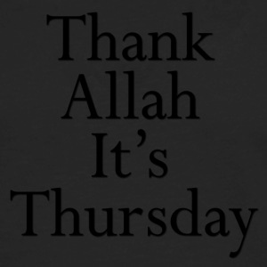 Thank Allah It's Thursday - Men's Premium Long Sleeve T-Shirt