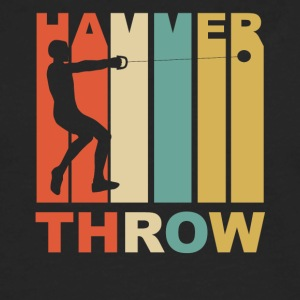 Vintage Hammer Throw Graphic - Men's Premium Long Sleeve T-Shirt