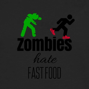 Zombies and fast food - Men's Premium Long Sleeve T-Shirt