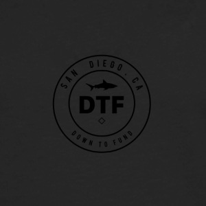 DTF, or DOWN TO FUND - Men's Premium Long Sleeve T-Shirt