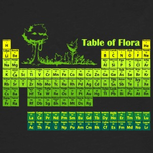 Periodic Flora - Men's Premium Long Sleeve T-Shirt