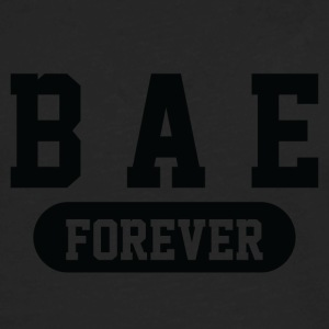 Bae Forever | Romantic, Valentines, Friends, Love - Men's Premium Long Sleeve T-Shirt