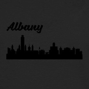 Albany NY Skyline - Men's Premium Long Sleeve T-Shirt