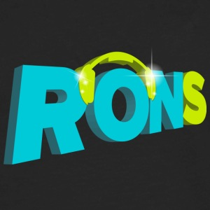 rons logo - Men's Premium Long Sleeve T-Shirt