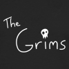 The Grims Logo - Men's Premium Long Sleeve T-Shirt
