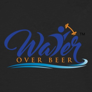 WATER OVER BEER - Men's Premium Long Sleeve T-Shirt