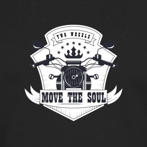 Two wheels move the soul - Men's Premium Long Sleeve T-Shirt