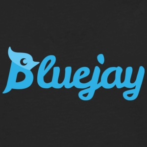 Bluejay Text - Men's Premium Long Sleeve T-Shirt