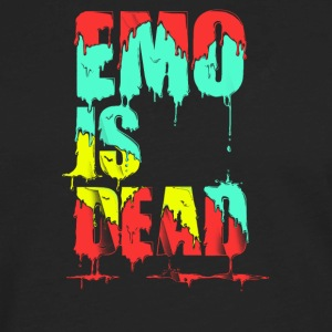 Emo is Dead - Men's Premium Long Sleeve T-Shirt