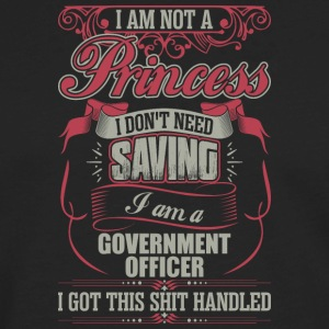 I Am A Government Officer - Men's Premium Long Sleeve T-Shirt