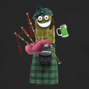 Bagpipe Pickle - Men's Premium Long Sleeve T-Shirt