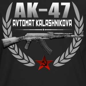AK 47 RUSSIAN RIFLE - Men's Premium Long Sleeve T-Shirt