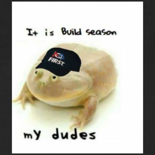 Build Season my Dudes - Men's Premium Long Sleeve T-Shirt