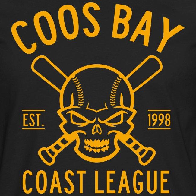 Coos Bay Coast League 1-color Gold