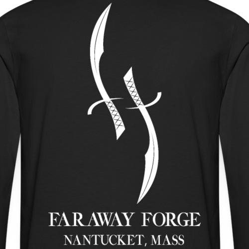 Faraway Forge BIG logo - Black - Men's Premium Long Sleeve T-Shirt