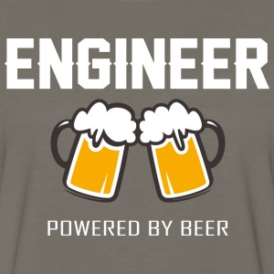 Engineer powered by beer T Shirt - Men's Premium Long Sleeve T-Shirt