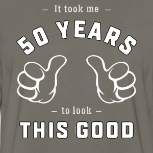 Funny 50th Birthday Gift: It took me 50 years - Men's Premium Long Sleeve T-Shirt