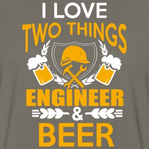 ENGINEER AND BEER T Shirt - Men's Premium Long Sleeve T-Shirt