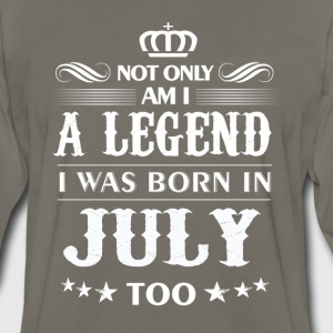 July month Legends tshirts - Men's Premium Long Sleeve T-Shirt