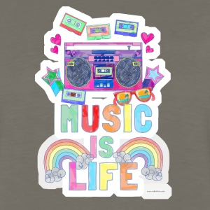 Music Is Life - Men's Premium Long Sleeve T-Shirt