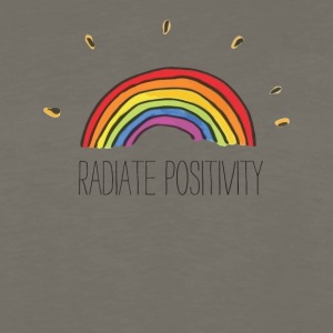Radiate Positivity - Men's Premium Long Sleeve T-Shirt