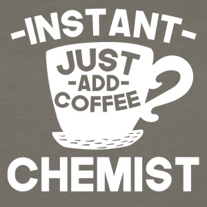 Instant Chemist Just Add Coffee - Men's Premium Long Sleeve T-Shirt
