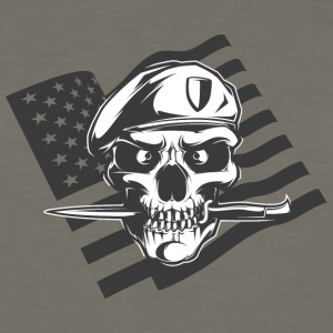 american_special_army_man - Men's Premium Long Sleeve T-Shirt