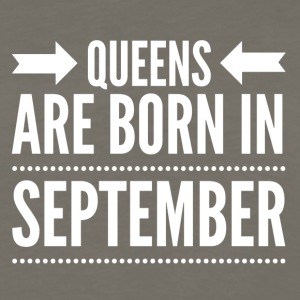 Queens Born September - Men's Premium Long Sleeve T-Shirt