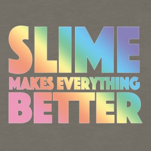 Slime Makes Everything Better - Men's Premium Long Sleeve T-Shirt