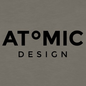 Atomic Design Brand Logo - Men's Premium Long Sleeve T-Shirt