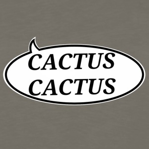 cactuscactus vert - Men's Premium Long Sleeve T-Shirt