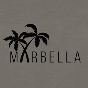 Marbella Palm Trees - Men's Premium Long Sleeve T-Shirt