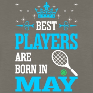 Best Players Are Born In May - Men's Premium Long Sleeve T-Shirt