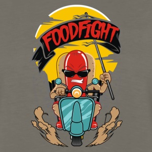 FOODFIGHT - Men's Premium Long Sleeve T-Shirt