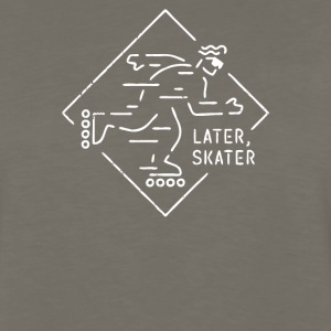 Later Skater - Men's Premium Long Sleeve T-Shirt